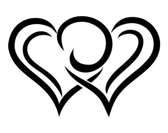54 Herz Ideen In 2021 Herz Scherenschnitt Konturen Zeichnen