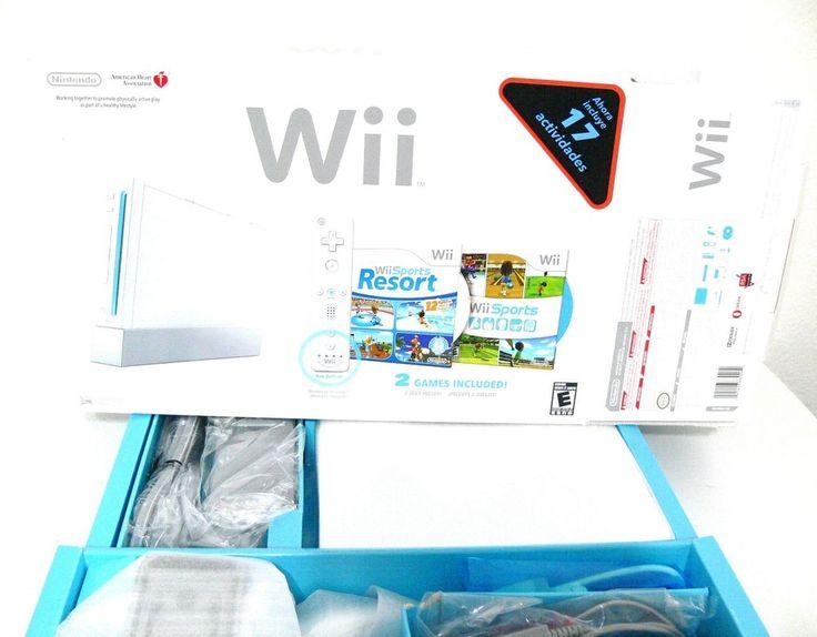 Nintendo Wii Bundle with Wii Sports & Wii Sports Resort - White #Nintendo