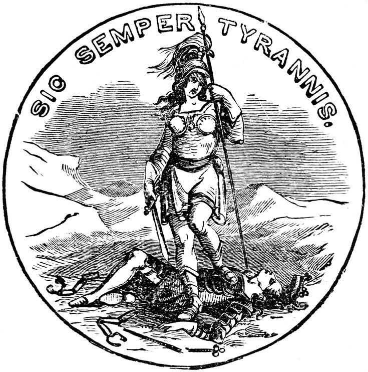 Virginia Seal - Goddess Virtue