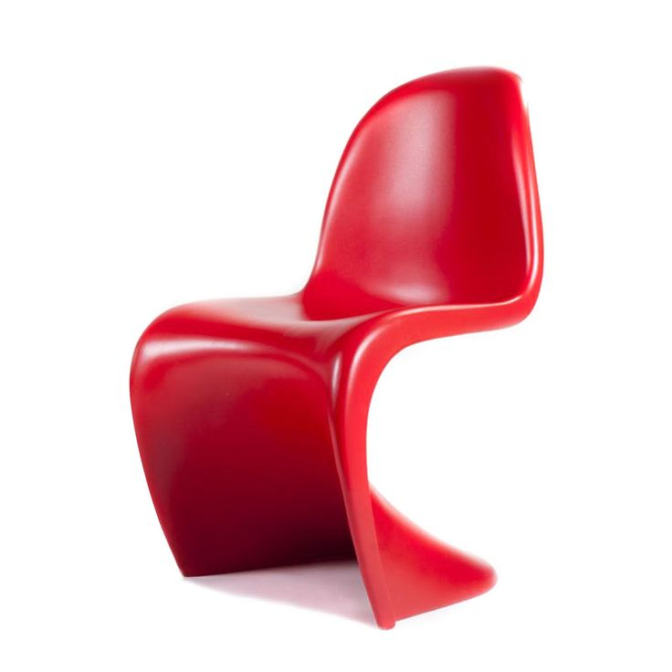 Silla Phanton en color rojo en http://homevictim.com/product/silla-phanton/
