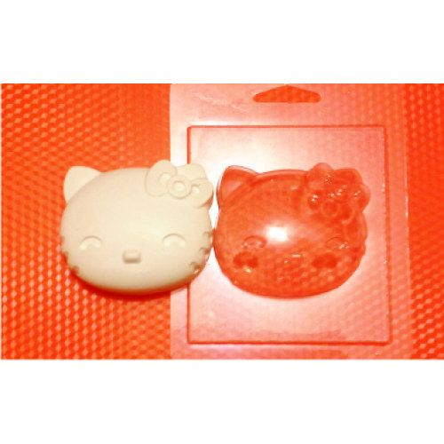 This is a hello kitty mold. It is a plastic mold! If you wanna make just an amazing product, this mold will be an indispensable thing.  ❤ The size of the hello kitty mold is 65x65x20mm // 6*6*2 cm  You can use this hello kitty mold:  ❤ for soapmaking ❤ for chocolate making ❤ for bath bombs making ❤ with plaster ❤ with handgum ❤ with clay  ❤ NOTICE: If you use this hello kitty mold for non-food purposes, DO NOT use the same mold with food.  Plastic molds are reusable, so you can make as many…