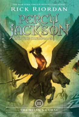 The Titan's Curse (Percy Jackson and the Olympians Series #3) New cover