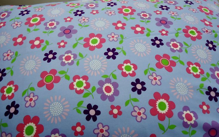 Excited to share the latest addition to my #etsy shop: Sheets and Bedding, Kids Bedding, Pillowcase for kids, Floral pillowcases, 2 Multi-coloured pillowcases, Printed large flowers, Queen size http://etsy.me/2EohDG1 #housewares #bedroom #bedding #blue #toddler #floral