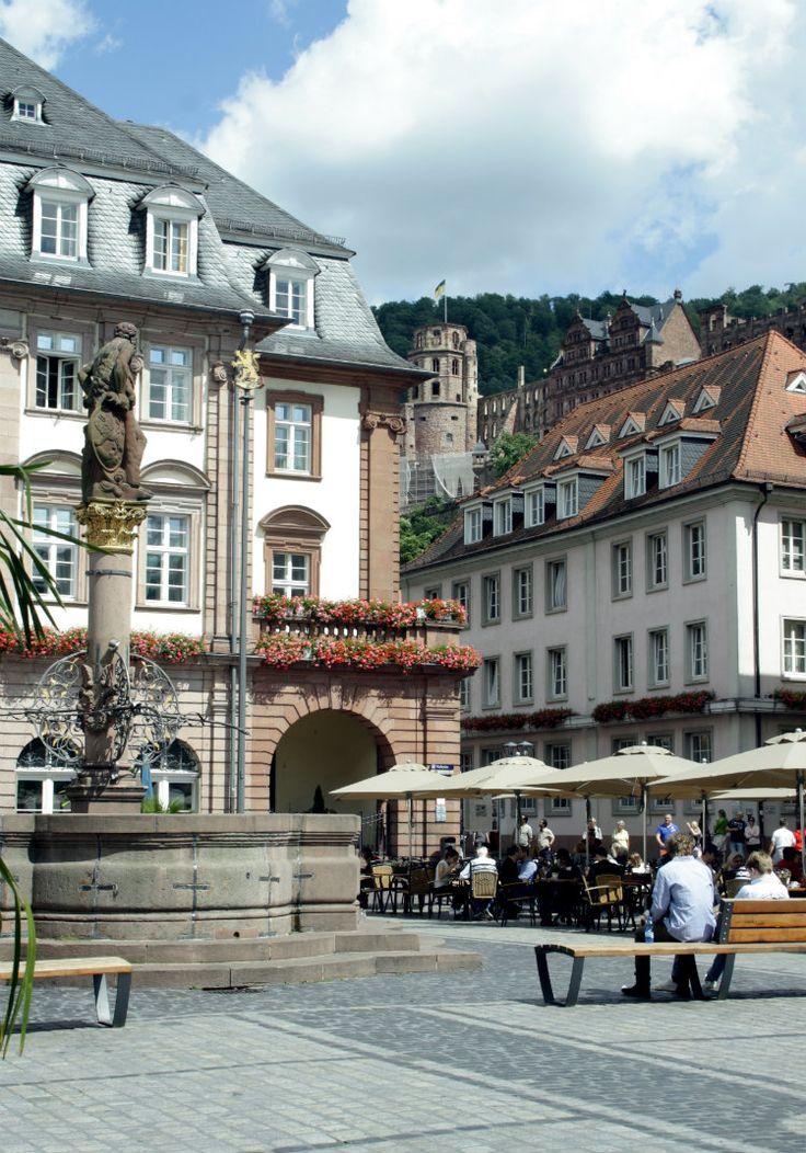 Marktplatz, Heidelberg. Bekijk alle tips over een stedentrip Heidelberg.