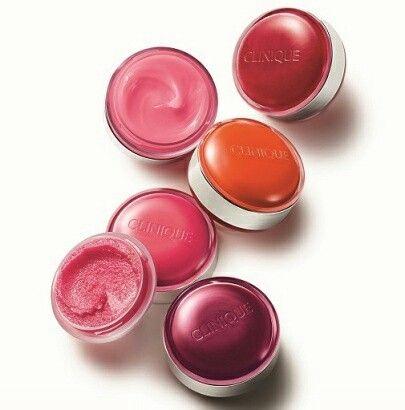 Clinique lip balm and scrub