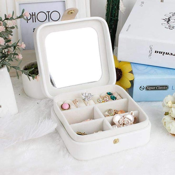 New Mini Creative Jewellery Box Travel Case |