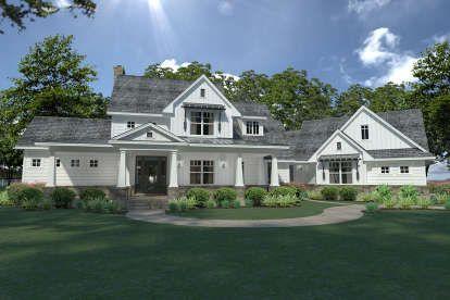 house plan 9401-00092 - modern farmhouse plan: 2,396