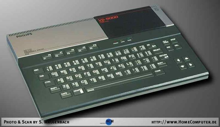 Philips VG-8000 MSX machine