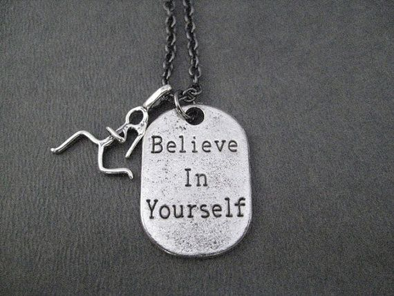 BELIEVE IN YOURSELF Runner Girl  Sterling Runner by TheRunHome