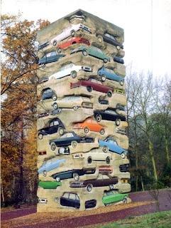 Arman Cars in concrete
