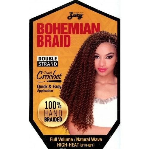 Zury Crochet Bohemian Braid 20 Braids Pinterest And African American Hair