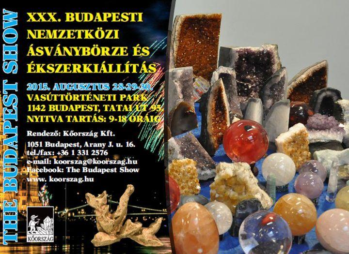 30. Budapesti Nemzetközi Ásványbörze és Ékszerkiállítás - Rendezvény (pl. kiállítás, mozi, színház) kupon