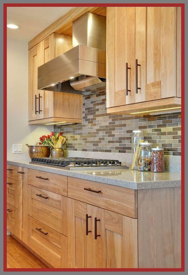 76 Reference Of Granite Countertops Light Colors In 2020 Kitchen Cabinet Design Kitchen Remodel Light Oak Cabinets