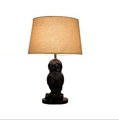 Kesierte studio minimalista arredamento moderno lampada da comodino camera da letto giardino americano pittura lampada da tavolo in salotto in legno massello satinato oscuramento creativo garanzia 20inch lampada decorativa del LED 2 anni , b
