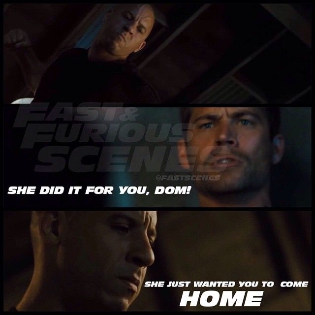 Dominic Toretto & Brian O'Conner (Vin Diesel & Paul Walker)