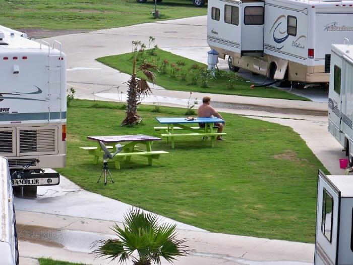 Rv Amenities In Galveston Texas Rv Parks Galveston Beach