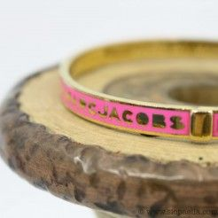 Marc by Marc Jacobs Pink Charm Bangle