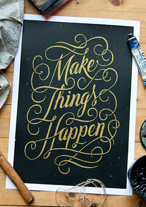 Hand Lettering Design: 40 Stunning Examples to Inspire You [With Tips From A Designer] – Design School