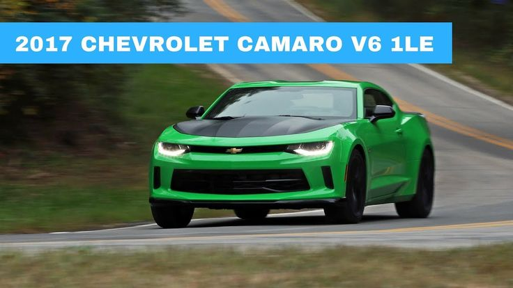 2017 Chevrolet Camaro V6 1LE Green