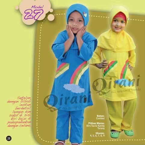 Qirani Kids Anak Model QK27 Kuning terang   Kode :   QK27 kuning terang  Harga :  Rp 185.000,- Qirani Kids 27  Bahan : Combed Pilihan Warna :  Kuning Terang Ukuran :5, 9  Ukuran dan 9 +Rp. 15.000  CATATAN PENTING YANG HARUS DIPERHATIKAN:  HARGA SETIAP SIZE BEDA, SEBELUM CLOSING Mohon dipastikan size apa yang diperlukan.  Untuk mengetahui ketersediaan Stok, CHAT ME ya....  HAPPY SHOPPING