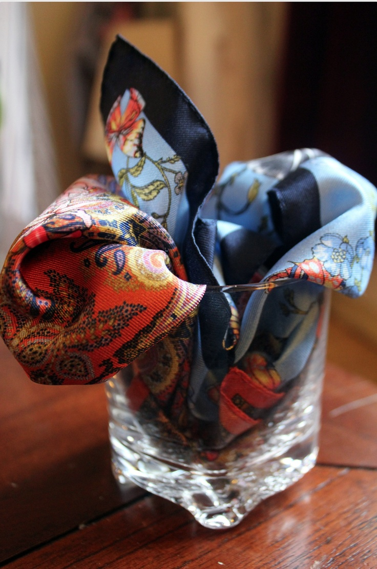 Nothing better than a good pocket square