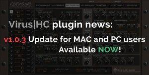 Virus|HC plugin v1.0.3 update now available! on http://www.mysteryislands-music.com/virushc-plugin-v1-0-3-update-now-available/