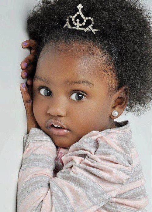 beautiful dark skin babies