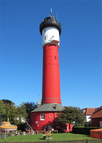 Alter Leuchtturm Wangerooge, Germany