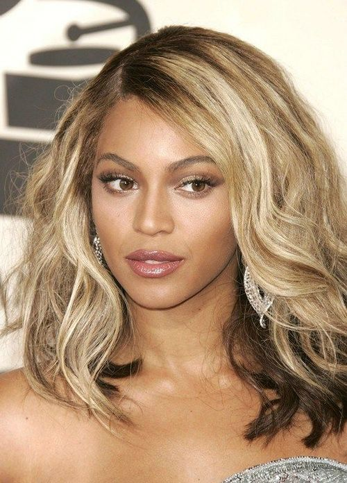 Beyonce Hair Color 2014