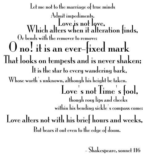 cousin kate sonnet 116 and sonnet Sonnet 116 and 130 in two of shakespeare's sonnets sonnet 116 and 130 , he shows love in a different, yet interesting way through tone, imagery, and meaning of love in these sonnets , he shows how love is forever, and describes the uniqueness of love.