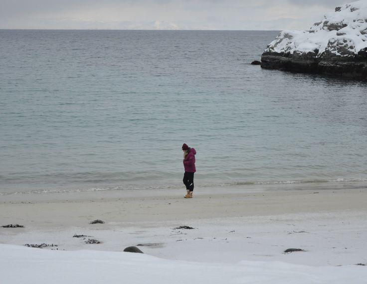 Beach weather in Northern Norway #Hammerfest #Forsøl # #Finnmark #Norway