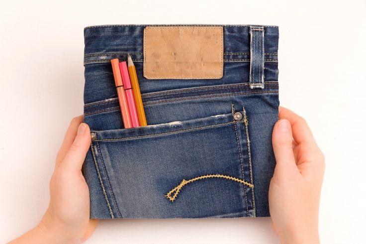 Terminplaner selbst gestalten im Jeans Look