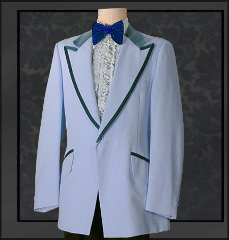 Tuxedo Wholesaler Tuxedo Rental This Vintage Blue Poly