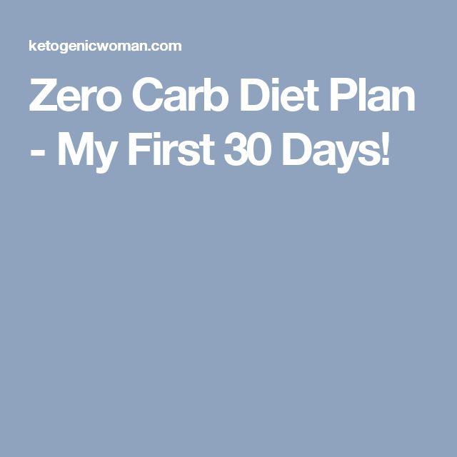 Zero Carb Diet Plan - My First 30 Days!
