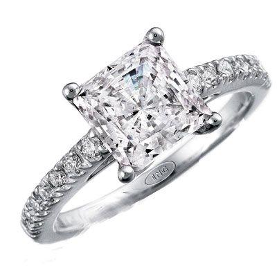 Simply gorgeous: Band, Princess Cut Rings, Engagement Rings Cut, Engagement Rings Princesses, Princesses Cut Rings, Rings Cakes, Leo Ingwer, Dreams Rings, My Engagement Rings