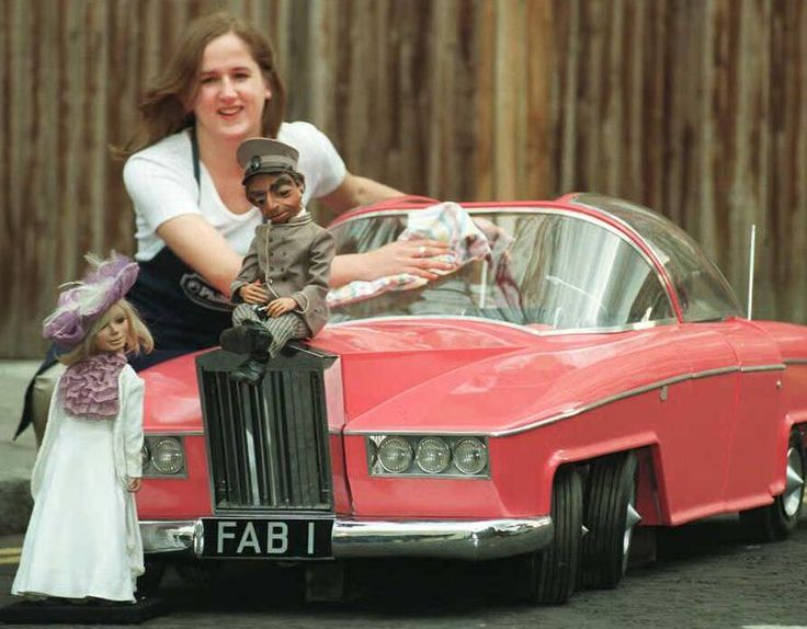 Lady Penelope's actual car! The 'FAB 1' Rolls Royce