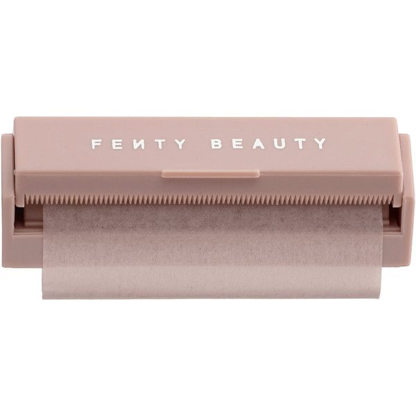 Invisimatte Blotting Paper FENTY BEAUTY by Rihanna ($16) ❤ liked on Polyvore featuring beauty products, makeup, makeup tools and blotting paper makeup