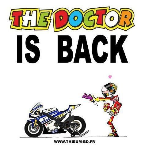 The Doctor.......is back!