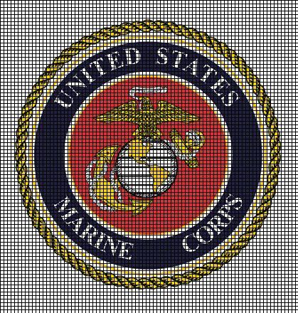 United States Marine Corps Crochet Pattern Crochet