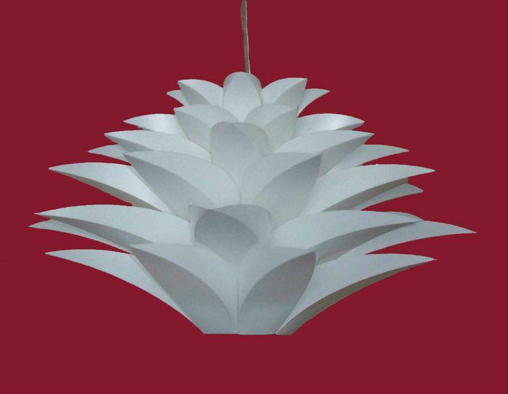 Modern White Pendant Lamp, Stylish New Ceiling Light, Art Lighting
