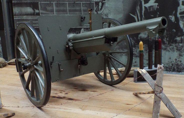 French 75mm Field Gun M1897 1918 Firepower Museum