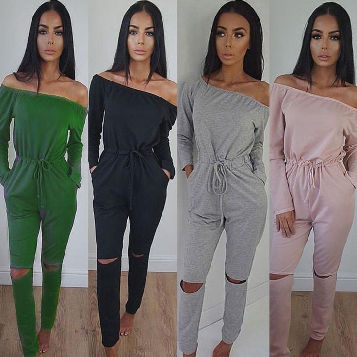Fashion Women Cocktial Party Playsuit Bodycon Casual Jumpsuit Romper Trouser