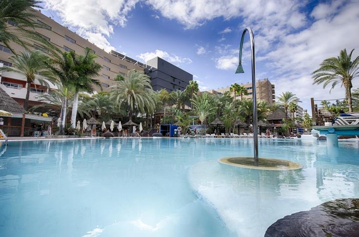 IFA Continental swimming pool, Playa del Ingles, Gran Canaria #Canarias #travel @Lopesan Hotel Group Hotel Group