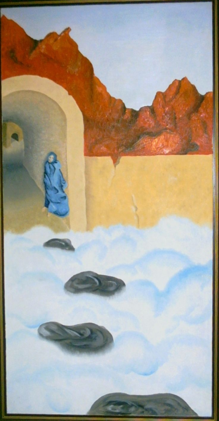Large Oil Painting I did about ten years ago, its still my fave, everyone has a different view of its meaning