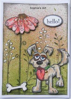 Sophie's Art: Hundeknochen  -  Dog Bones  -  os de chien