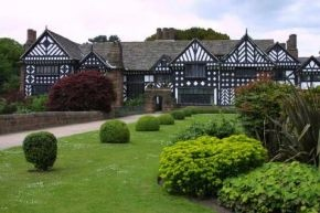 Speke Hall (model for the Old Lodge) via Deborah Harkness, Shadow Of Night, A Discovery Of Witches, All Souls Trilogy