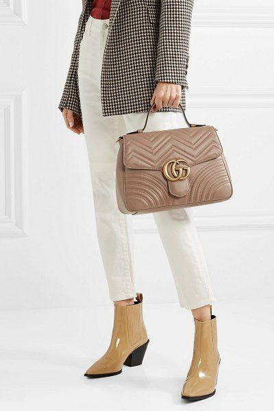 79a348788b63 Gucci Gg Marmont Medium Quilted Leather Shoulder Bag in 2019 | Bags ...