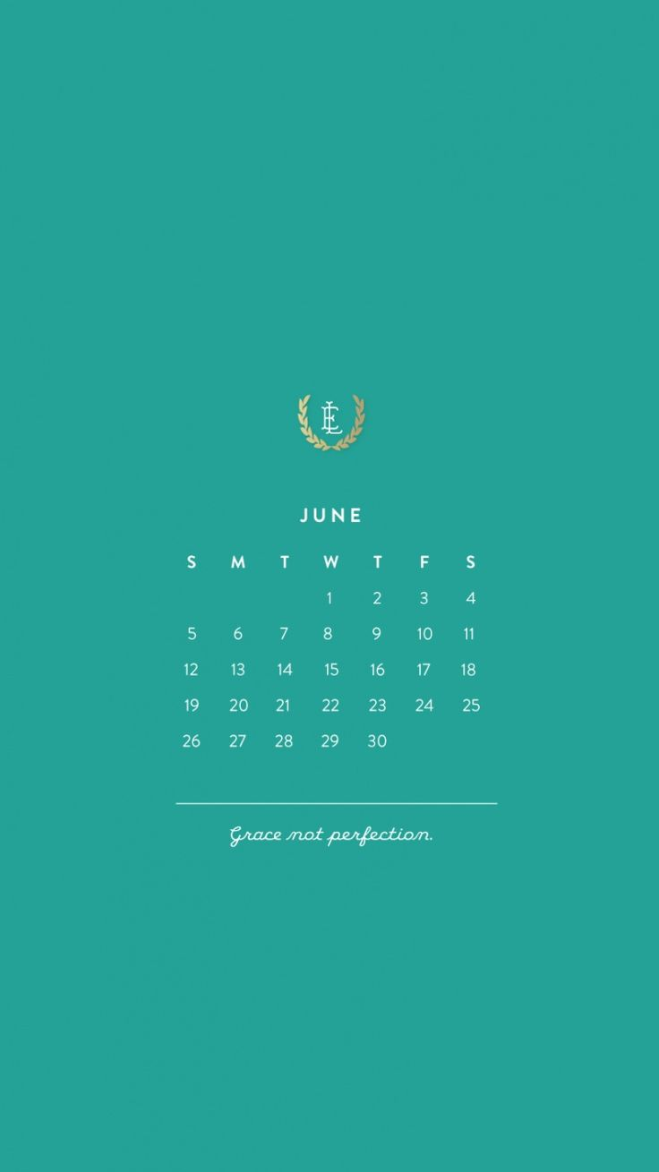 Calendar Wallpaper Iphone : June iphone hd calendar wallpapers tap to see more