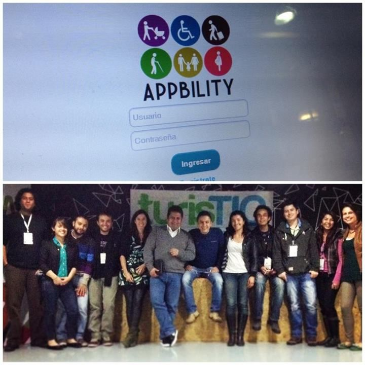 Luego de la gran Hackatón #TurisTIC donde hackers y desarrolladores se reunieron durante 36 horas, se creó Appbility, la aplicación web que permite informar sobre los mejores lugares de TURISMO PARA TODOS.  Aquí está toda su información ¡Léela y compártela!