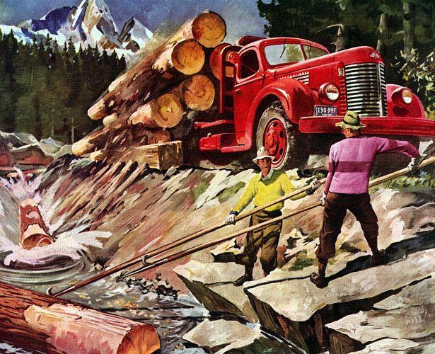 Plan59 :: Classic Truck Art :: 1946 International Harvester